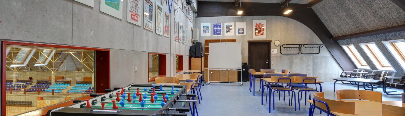 Foto: Fælleslokale i hal 2