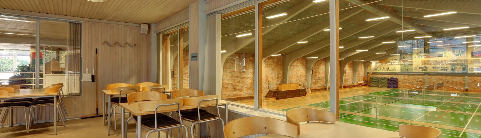 Foto: Holtehallerne - mødelokale i hal 1