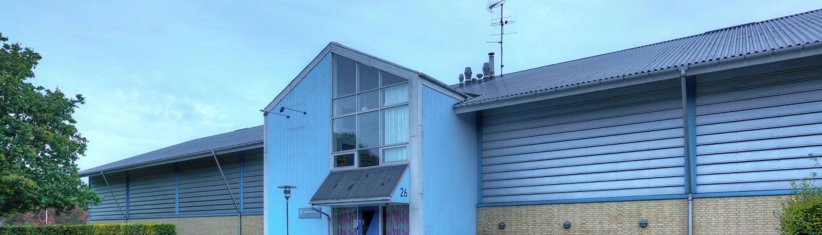 Foto: Birkerød Badmintonhal - udendørs