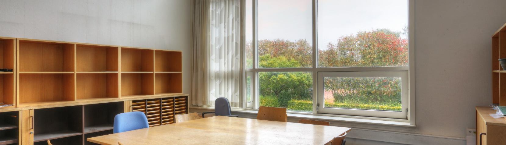 Foto: Birkerød Badmintonhal - indendørs - mødelokalet