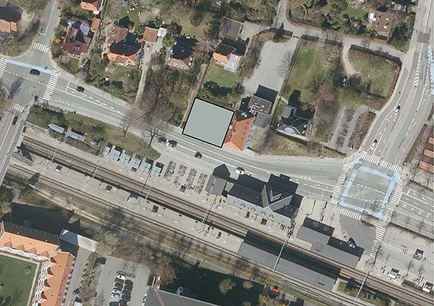Birkerød Station nedlæggelse af vejareal