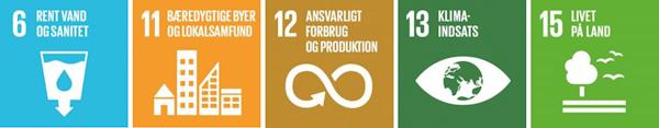 Bæredygtig drift i Rudersdal Kommune arbejder med fem af FN's 17 verdensmål