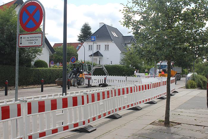 Byggeriet er gået i gang med Holte Skole på Rønnebærvej.
