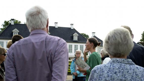 Rundvisning i Barokhaven ved Gl. Holtegaard
