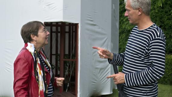 Par der taler sammen