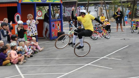 Cykelmyggen optræder