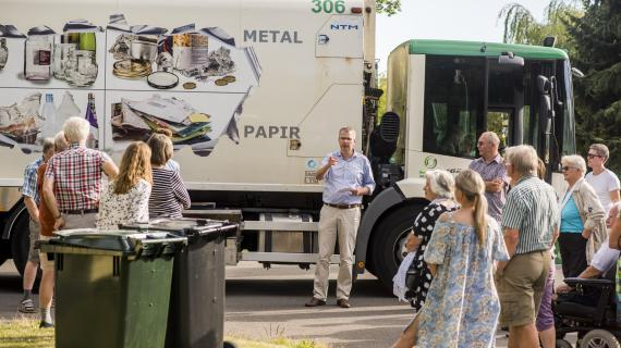 Forsøg med affaldssortering, Eskemosevang Grundejerforening, Birkerød