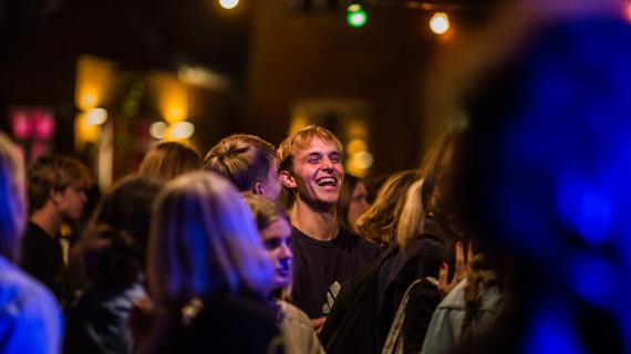 Publikum til Lydfest