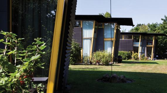 Boligbebyggelse ved Birkerød Sø tegnet af Vandkunsten