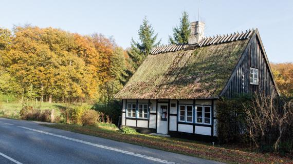 Rudehus ved Hørsholm Kongevej