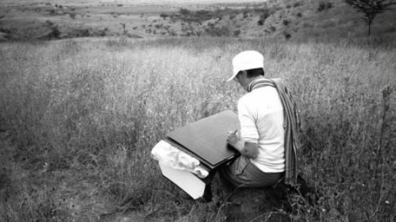 Udsigt over Rift Valley 1997