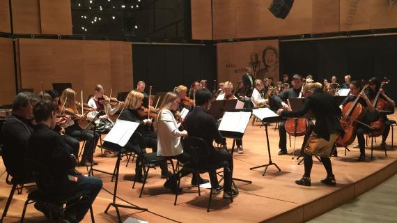 Ungdomssymfoniorkester hos Rudersdal Musikskole