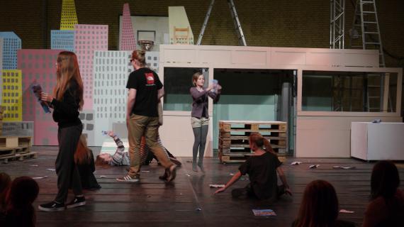 Teatermejeriet scenearbejde
