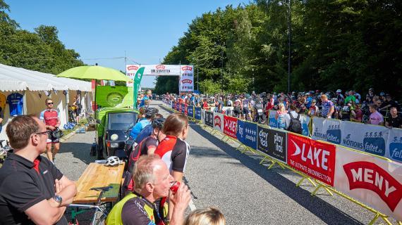 Cykelfest på Geels Bakke
