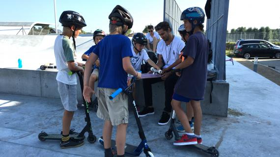 Livet i skateparken sommer 2016