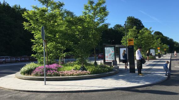 Holte Station forplads