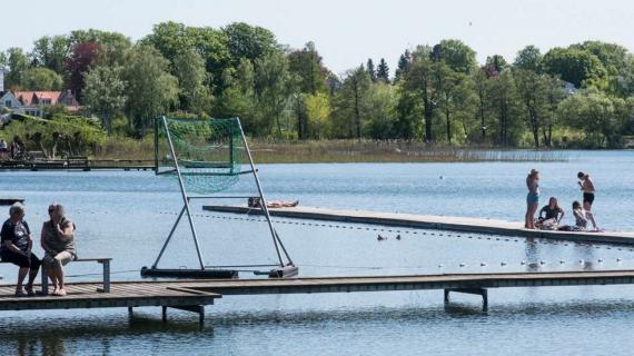 Sommer på søen