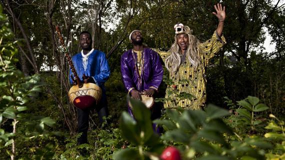 Kamæleonkoncert - Moussa Diallo trio