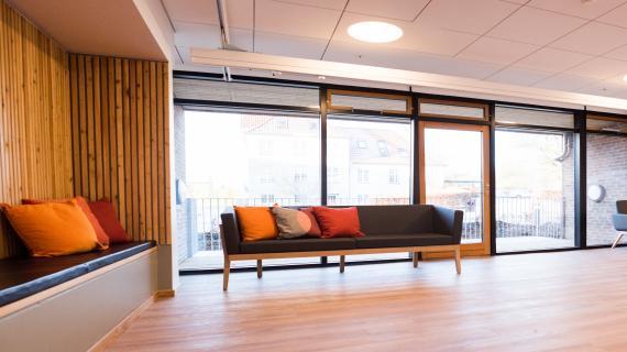 fællesrum med sofa