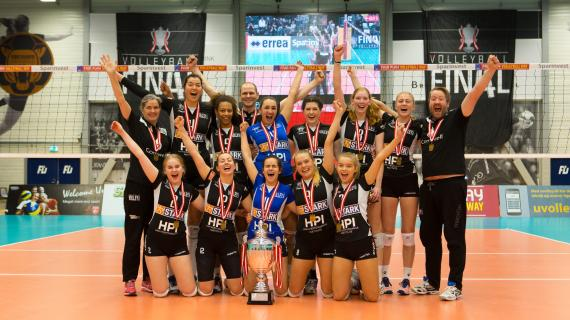 Foto: Holte Volley - Pokalmestre