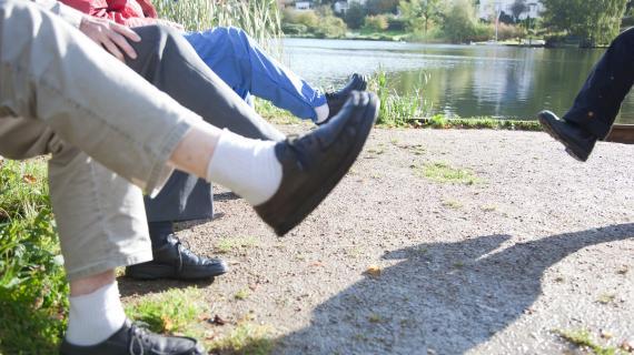 træning ved sø 2