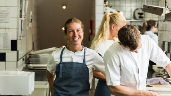 Camilla Hoberg, foodcoordinator og ansvarlig for økologi og bæredygtighed hos Kurhotel Skodsborg
