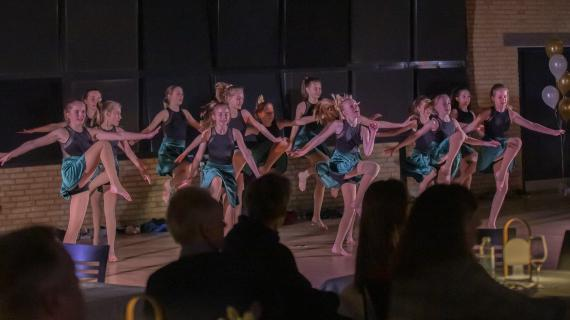 Dansere fra Rudersdal BevægelsesAkademi