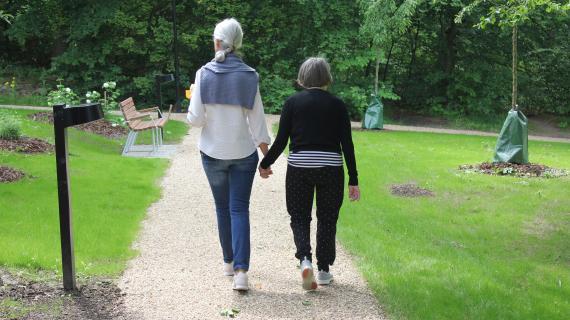 Frydenholm Park indvielse rundtur