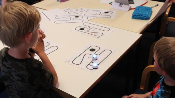 Teknologifestival Børn og små robotter