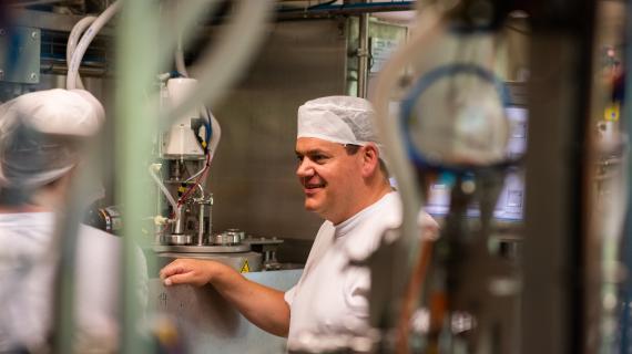 Vi besøgte Chr. Hansen der er blev kåret til verdens mest bæredygtige virksomhed 2019.