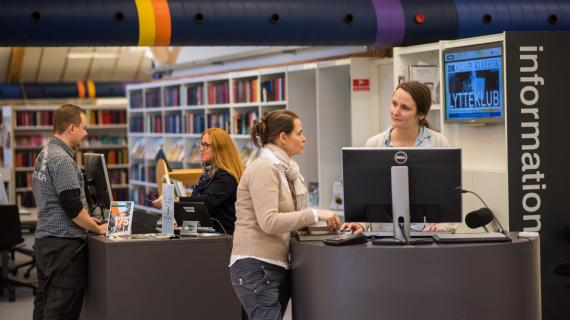 Spørg biblioteket