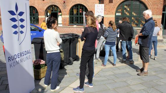 Affaldssortering blev præsenteret på Birkerød Torvedage