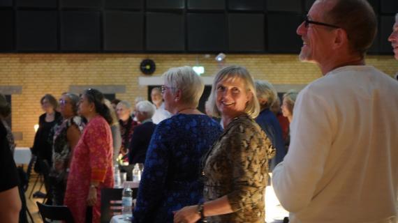 Fællessang ved Frivilligfesten 2019