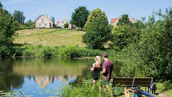 Fiskeri ved Langedam