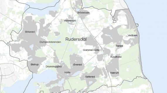 Alle 14 områder i kommunen hvor kloakkerne skal kilmasikres