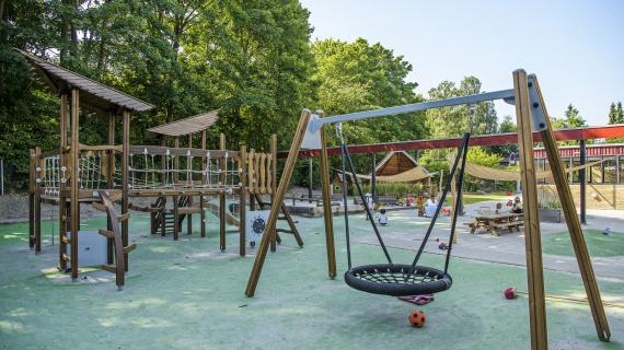 Børnehuset Egebakkens legeplads