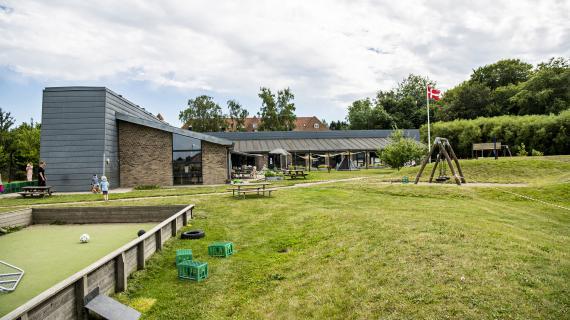 Børnehuset Kastaniebakken set udefra