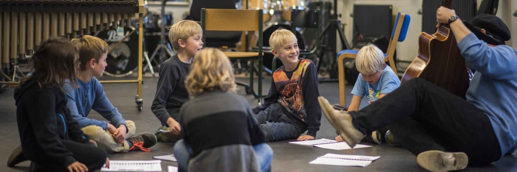 Elever i Rudersdal Musikskole