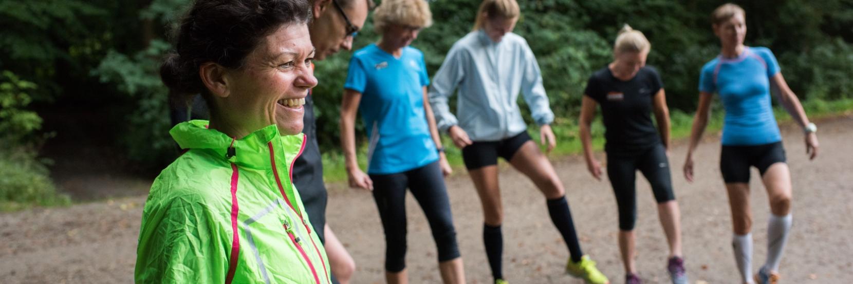 Løbere fra SNIK løbeklub