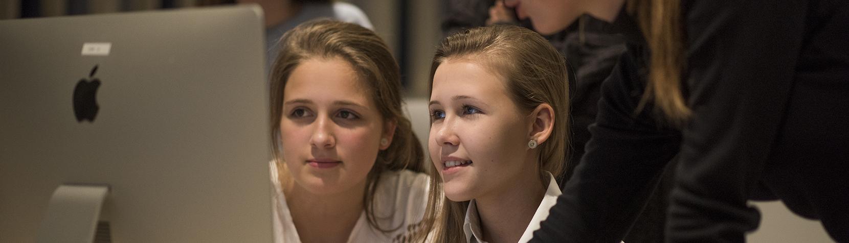 Unge undervises i at blogge