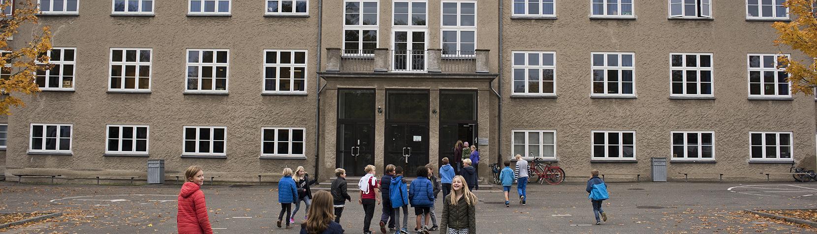 Skolegård