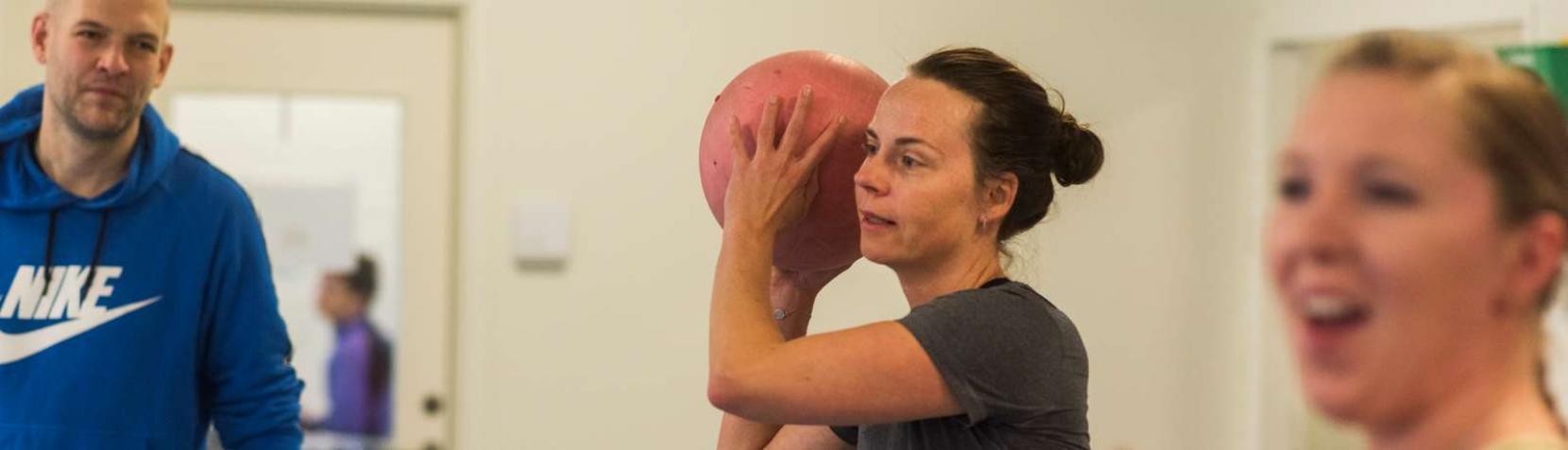 Træning i Genoptræningscenter Rudersdal