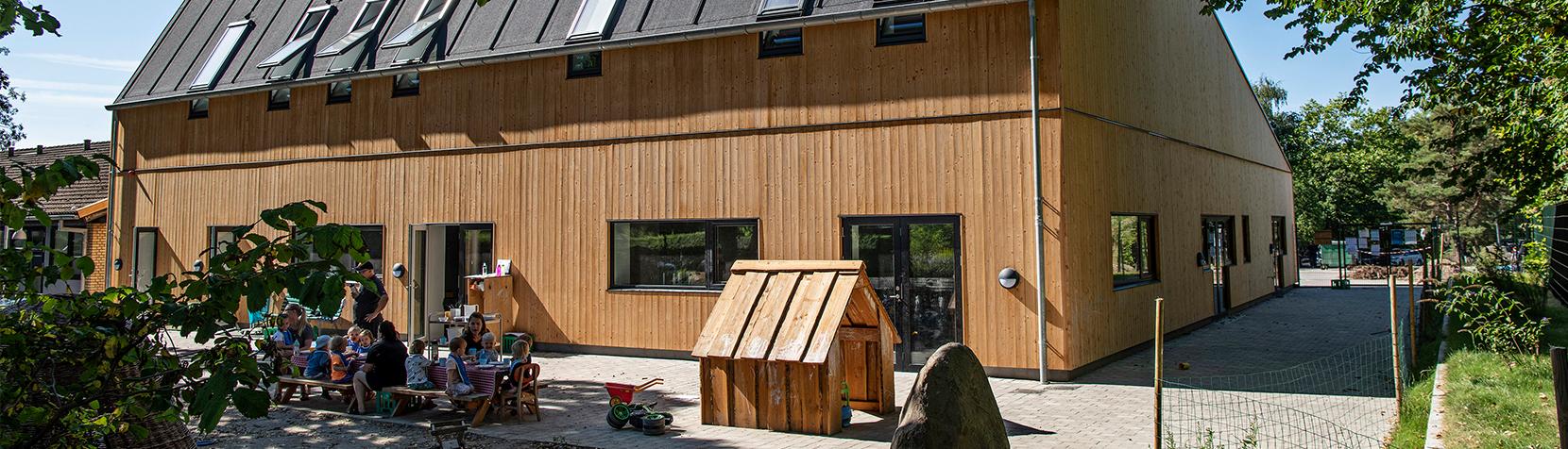 Skovlyhusets nye bygning