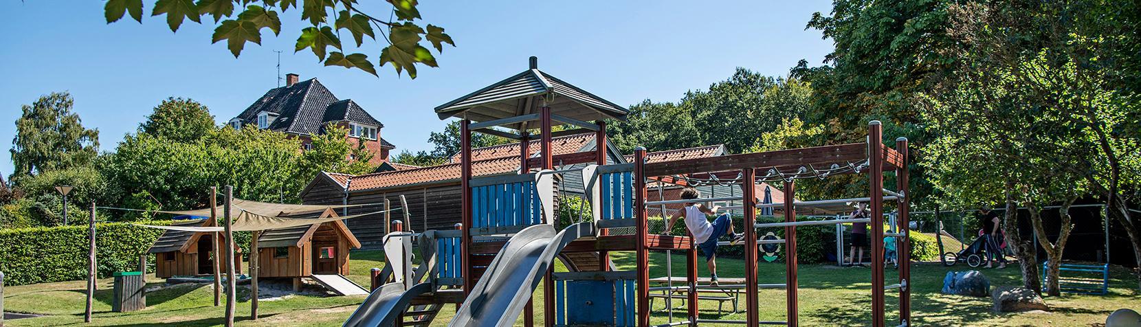 Børnehuset Rudegårds Allés legeplads