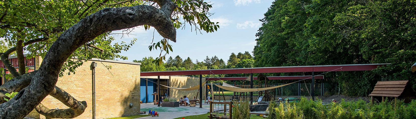 Børnehuset Egebakken set udefra