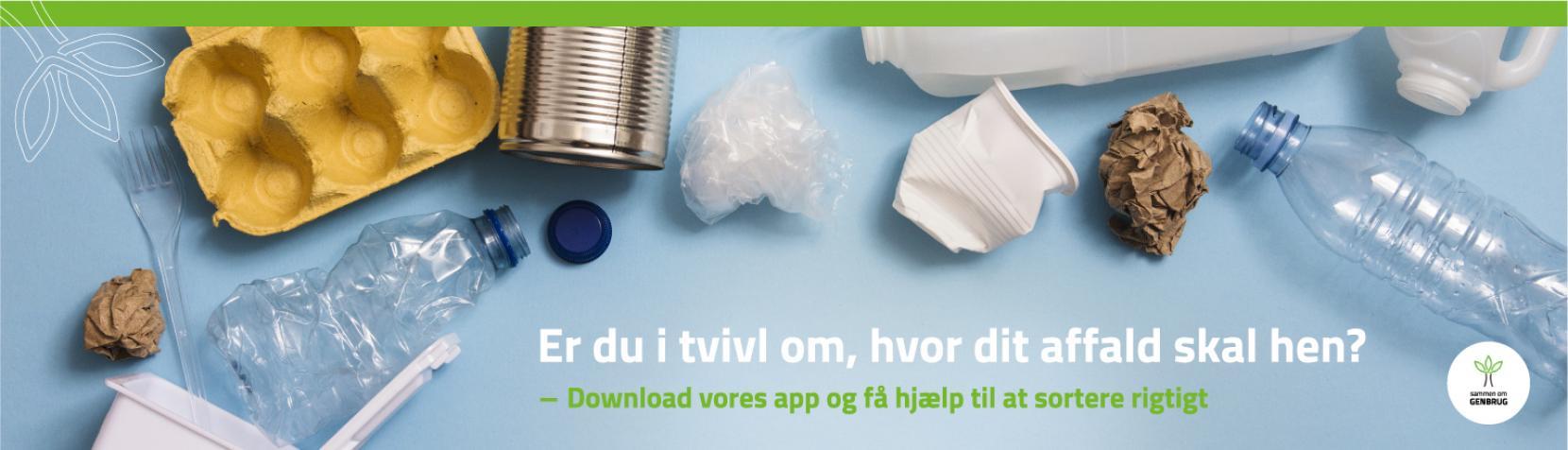 Topbanner for ny affalds-app