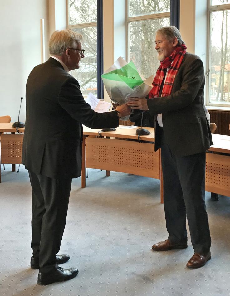 Jens Ive med Claus Bojesen