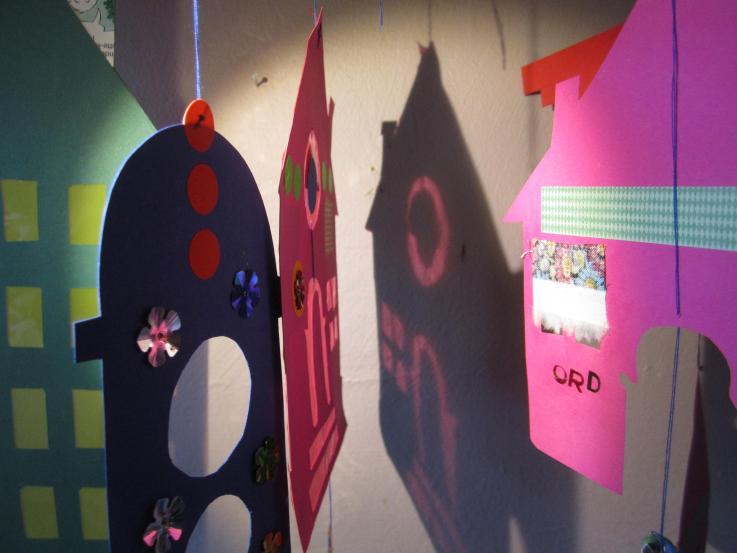 Foto: Rudersdal Billedskole: Hængende huse