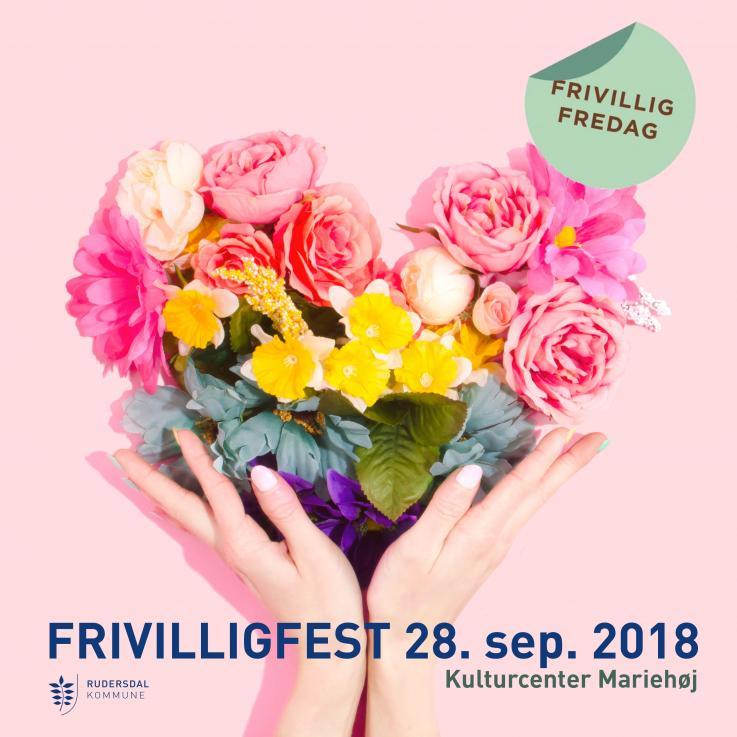Plakat frivilligfest 2018