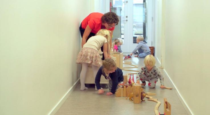 Leg og læring tema - børneinitieret leg